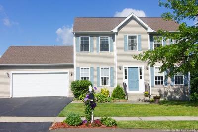 Meriden Single Family Home For Sale: 55 Walt Drive