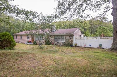 New London County Single Family Home For Sale: 294a Cossaduck Hill Road
