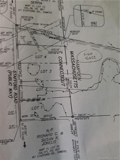 Tolland County, Windham County Residential Lots & Land For Sale: 45 Stafford Road