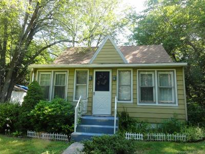 Wolcott CT Single Family Home For Sale: $125,000