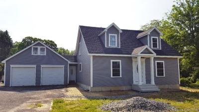 Wolcott Single Family Home For Sale: 171 Brooks Hill Road