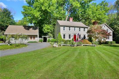 Wilton Single Family Home For Sale: 114 Ruscoe Road
