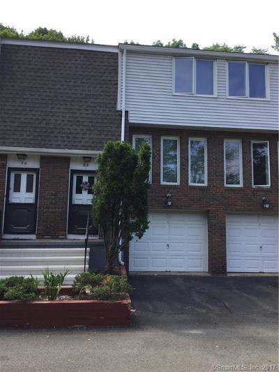 Meriden Single Family Home For Sale: 184 Gravel Street #38