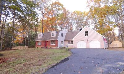 Southbury Single Family Home For Sale: 63 Kettletown Woods Road