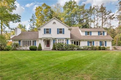West Hartford Single Family Home For Sale: 11 Old Brook Road