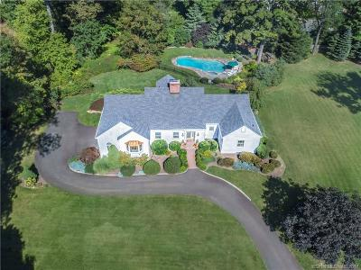 RIDGEFIELD Single Family Home For Sale: 56 Lewis Drive