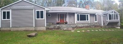 Cheshire Single Family Home For Sale: 445 Mount Sanford Road