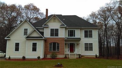 Bolton Single Family Home For Sale: 142 Tamarac Drive
