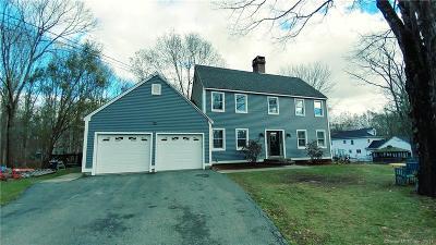 Ledyard Single Family Home For Sale: 5 Cranwood Road
