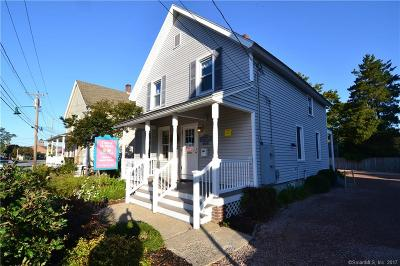 Stonington Single Family Home For Sale: 19 Roosevelt Avenue