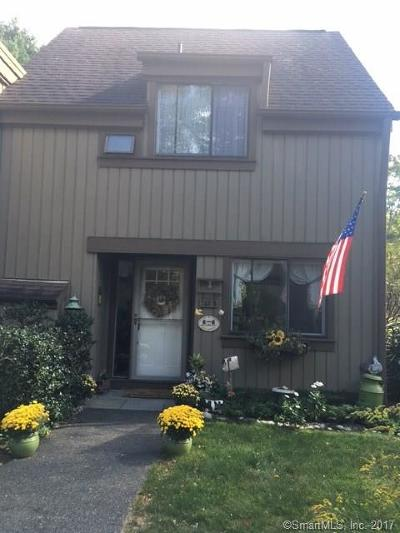 Southbury Condo/Townhouse For Sale: 743 Heritage Village #B