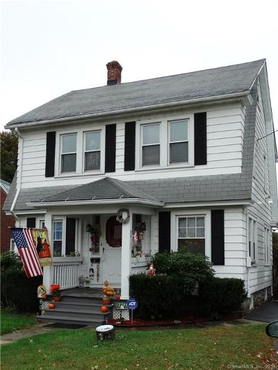 Waterbury Single Family Home For Sale: 226 Circular Avenue