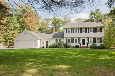 Simsbury Single Family Home For Sale: 28 Woodchuck Hill Road