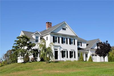 Harwinton Single Family Home For Sale: 171 Woodchuck Lane