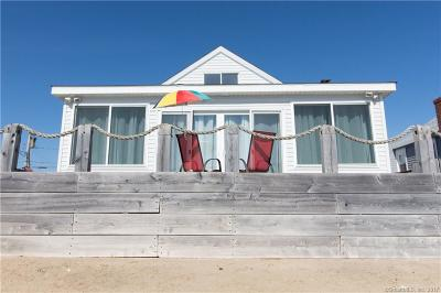 Old Saybrook Single Family Home For Sale: 15 Beach Road West