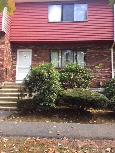 Newington Condo/Townhouse For Sale: 534 Churchill Drive #534