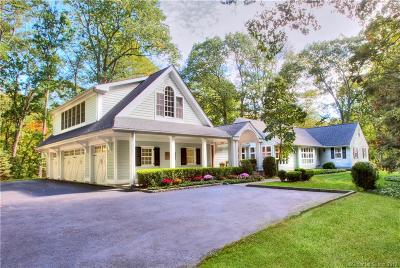 Fairfield County Single Family Home For Sale: 296 West Hills Road