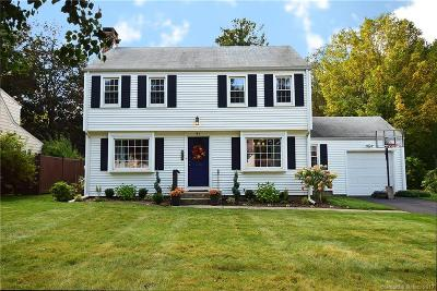 West Hartford Single Family Home For Sale: 51 Overbrook Road