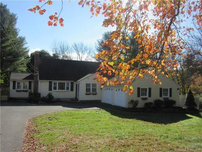 Simsbury Single Family Home For Sale: 24 Deepwood Road