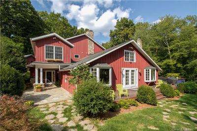 Wilton Single Family Home For Sale: 808 Ridgefield Road