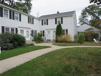 Stamford Condo/Townhouse For Sale: 393 Sylvan Knoll Road