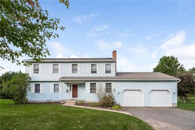 Ellington Single Family Home For Sale: 14 Ridgeview Drive