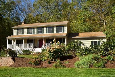 Tolland Single Family Home For Sale: 667 Old Stafford Road