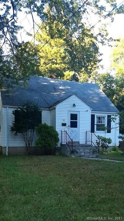 Windsor CT Single Family Home For Sale: $159,900
