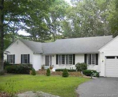 Ledyard Single Family Home For Sale: 5 Albatross Drive