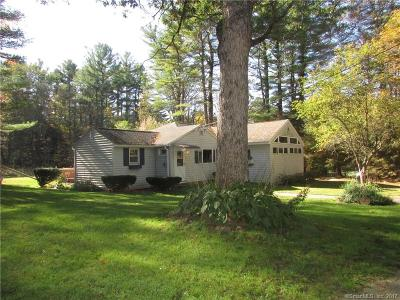 Tolland County, Windham County Single Family Home For Sale: 17 Orcuttville Road
