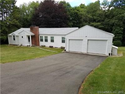 Wilton Single Family Home For Sale: 35 Blue Ridge Road
