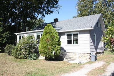 Groton CT Single Family Home For Sale: $199,500