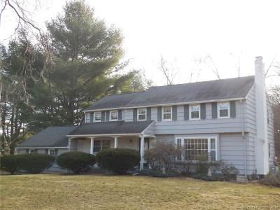 Simsbury Single Family Home For Sale: 1 Chestnut Hill Road