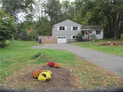 Suffield Single Family Home For Sale: 835 Bridge Street