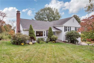 West Hartford Single Family Home For Sale: 92 Selden Hill Drive