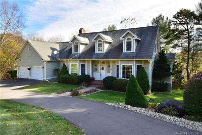 Tolland Single Family Home For Sale: 43 Woodhenge Drive
