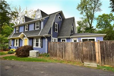 West Hartford Single Family Home For Sale: 18 Foxcroft Road
