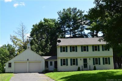 Simsbury Single Family Home For Sale: 16 West Tomstead Road