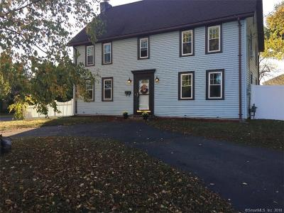 Newington Single Family Home For Sale: 201 Maple Hill Avenue