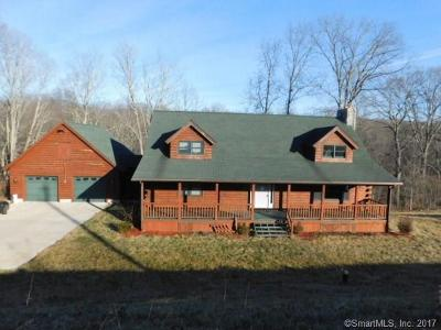 Tolland County, Windham County Single Family Home For Sale: 30 Loveland Road