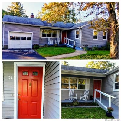Waterford Single Family Home For Sale: 52 Quarry Road