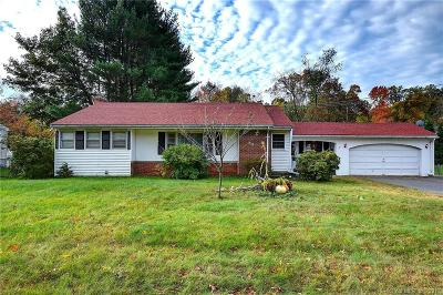 South Windsor Single Family Home For Sale: 41 Beelzebub Road