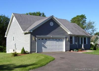 Suffield Single Family Home For Sale: 761 Thompsonville Road