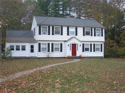 Hamden Single Family Home For Sale: 4050 Whitney Avenue
