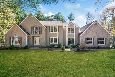 Simsbury Single Family Home For Sale: 22 Lucy Way