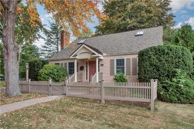 West Hartford Single Family Home For Sale: 44 Woodrow Street