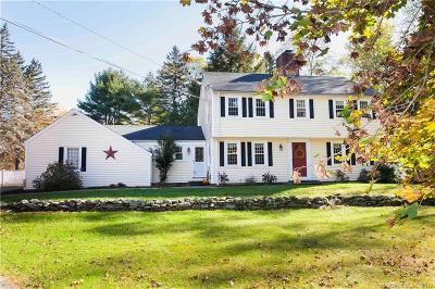 Simsbury Single Family Home For Sale: 3 Brook Drive