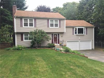 Southington Single Family Home For Sale: 506 West Center St Ext