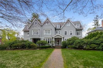 West Hartford Single Family Home For Sale: 999 Prospect Avenue