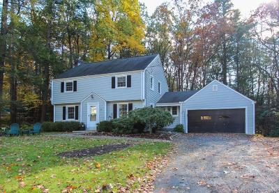 Simsbury Single Family Home For Sale: 25 Evans Drive